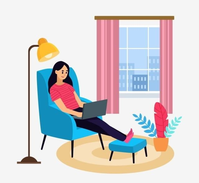 Digital marketing - Working from home